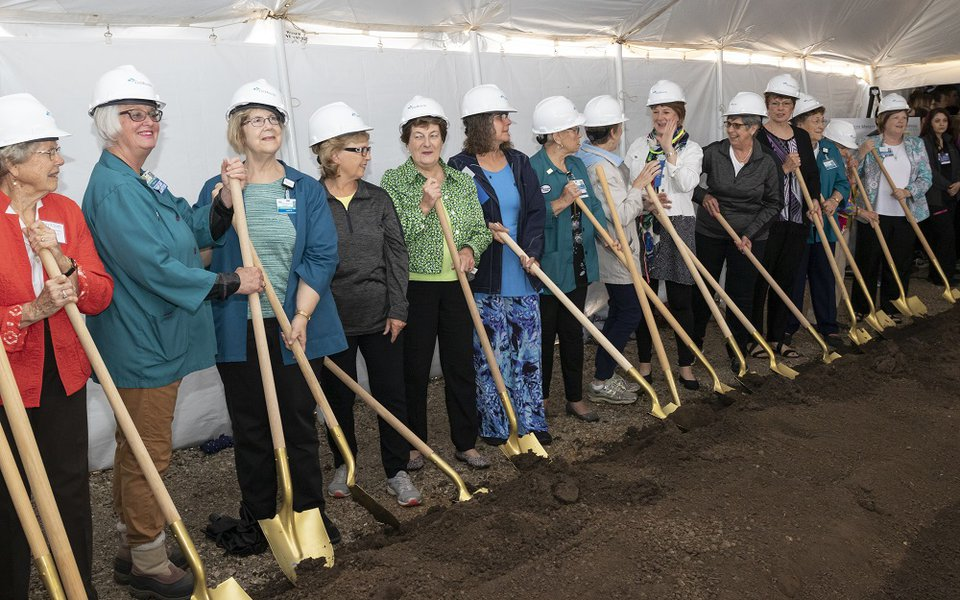 An image of the groundbreaking participants