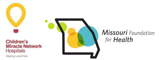 Children's Miracle Network and Missouri Foundation for Health logos side by side
