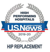 Logo - High-Performing Hospitals - Hip Replacement